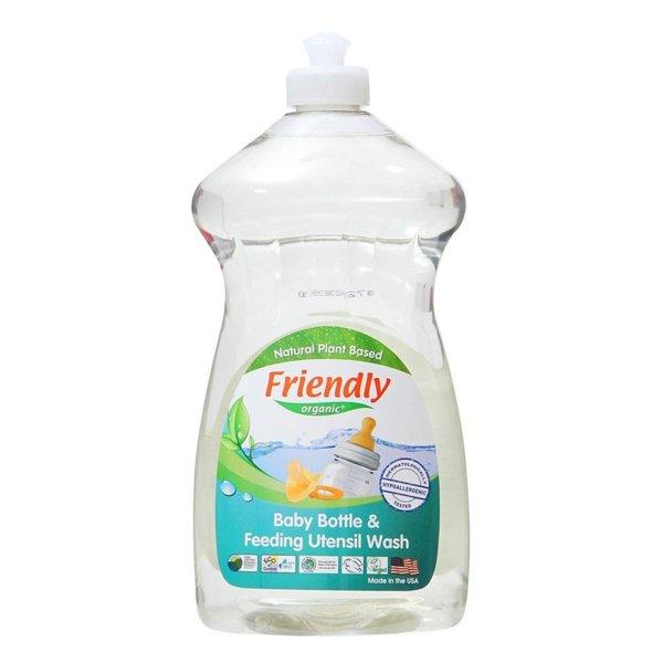 Friendly Organic Препарат за ръчно измиване на бебешки шишета и съдове 739мл.